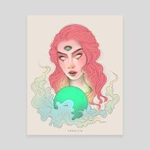Visions - Canvas by Yokailia