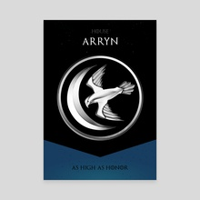 House Arryn - Canvas by Nikita Abakumov