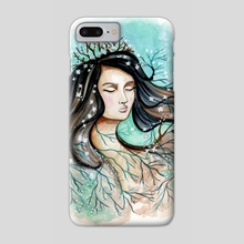 Mother Earth - Phone Case by Amanda Sharples