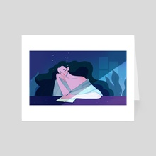 Sleepless nights - Art Card by Joana Neves