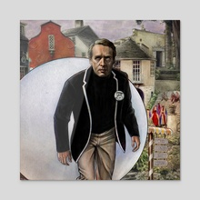 The Prisoner - Be Seeing You - Canvas by Jason Minor