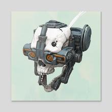 Skull-Tech-2020 - Acrylic by Mack