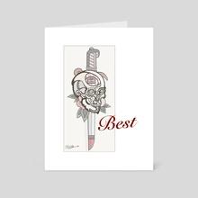 Best - Art Card by Randal Romwalter