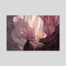 Crystal Gardens - Acrylic by Harry Martin