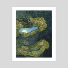 Night Rambler - Art Print by Emily Poole