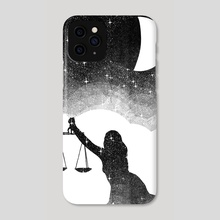 Libra - Phone Case by Malcolm Maune