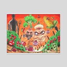 #5 Lively Stock  - Canvas by Odin