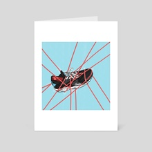 Nike air Huarache - Art Card by Joao Cardoso