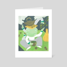 Matcha, Matcha - Art Card by Kevin VQ Dam