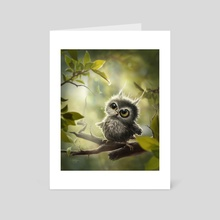 Meanwhile in the Trees - Art Card by Marie Beschorner