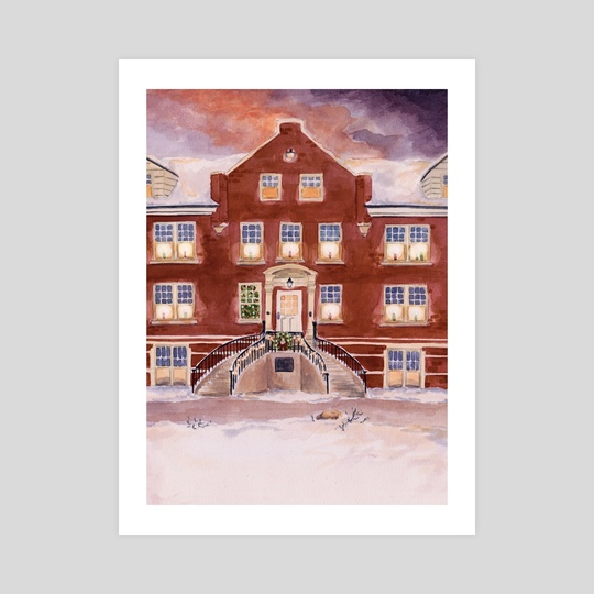 Taylor Hall - Hastings College by Michelle Kondrich
