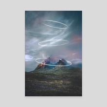 Risen - Canvas by Aurora Sector