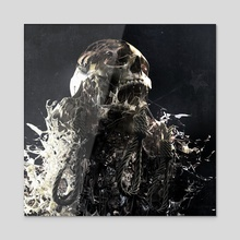 Hate Speech 3 - Acrylic by DAMNENGINE