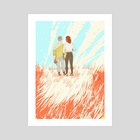 Another Place - Art Print by Valentine Smith