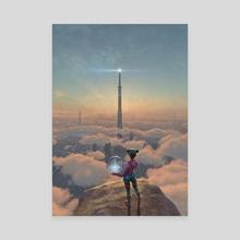 The Beacon - Canvas by Antonio Caparo