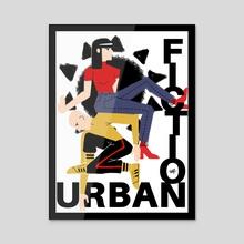 Urban Fiction (SUN Ver.) - Acrylic by maram