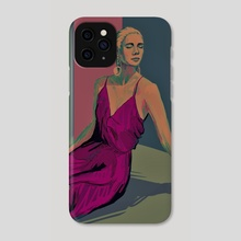dreamy - Phone Case by melina ghadimi