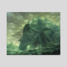 Meandering Towershell - Canvas by YW Tang