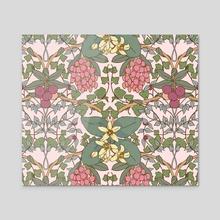 Winter Flowers II - Acrylic by Feroniae