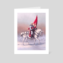 A Winter Knight - Art Card by Candra Hope