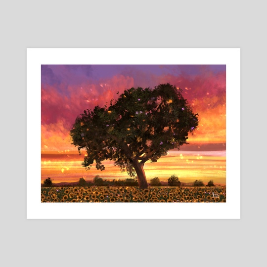 Tree blossom  by Tosin Kadiri