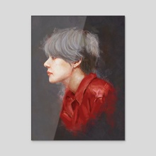sides - Acrylic by Vita E. Putri