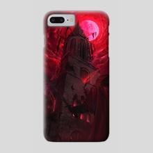 RED - Hell Night  - Phone Case by Rogier van de Beek