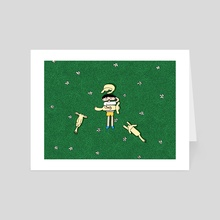 Doggy four - Art Card by NOY