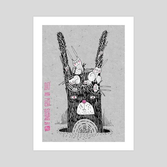 If Rabbits Grew On Trees by Yulia Ruditskaya