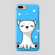 Polar Cub - Phone Case by Indré Bankauskaité