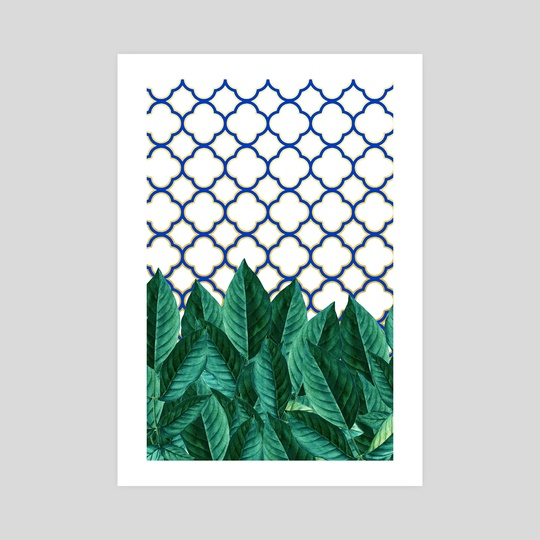 Leaves & Tiles  by 83 Oranges