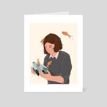Fishbowl - Art Card by Amy Liu