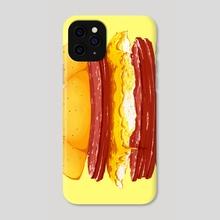 Pork Roll, Egg, & Cheese - Phone Case by Sami Cappa