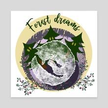 FOREST DREAMS - Canvas by Elena Zharinova