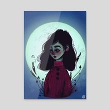 It's Okay - Acrylic by Josie Draws