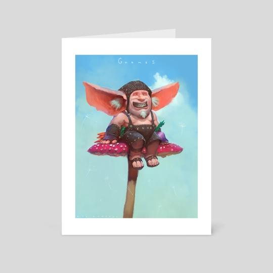 Gnomes!  by Alex Konstad