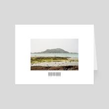 Couple by the Rocks - Art Card by John Jackson