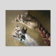 Ghoulcaller's Bell - Acrylic by Lars Grant-West