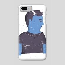 Grumpy guy - Phone Case by Rodrigo Fortes