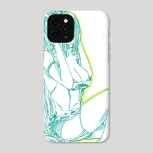 Hatsune miku 02 - Phone Case by robbot17 studio