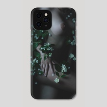 Flowers and the water - Phone Case by Kseniya Lokotko