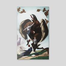Lifted - Acrylic by Arthur Haywood