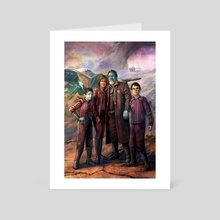 Cramp Family Ravagers - Art Card by Cliff Cramp