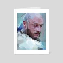 Ragnar - Art Card by Dato kiknavelidze
