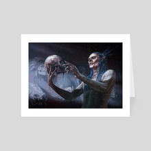 The Collector - Art Card by Vilenko Vujicevic