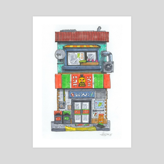 Sir Fredny Convenience Mart by Ugly Ink