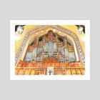 1930 EM Skinner Organ at MUMC - Art Print by Cody Davis