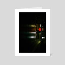 Pontocho - Art Card by Petalo Pelnar