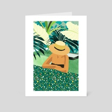 Chill - Art Card by 83 Oranges