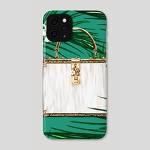 Bags of Paradise - Dolce - Phone Case by Rebecca Feneley